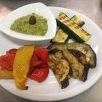 Verdure grigliate e Bagnet verde