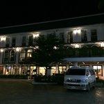 Resort in night