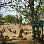 creepy graveyard next door