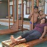 Ananthaya's poolside