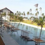 Ananthaya's pool from the balcony