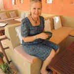 Christine, l'hôtesse accueillante du Dar Victoria