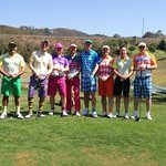 The Rascals at the driving range!