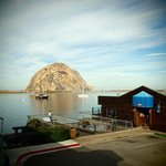Morro Rock from the balcony