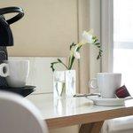 machine à café Nespresso dans toutes les chambres