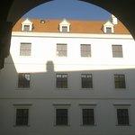 Hrad courtyard