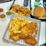 #FamousFishAndChips #Fish #Chips #Food #Amazing #ChipButty
