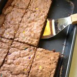 Our families favorite chewy brownie recipe... yumm!
