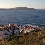 Vista El Bergantín frente Faro de Cavallería