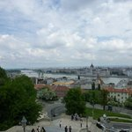 Danube and Pest View from the Fisherman's Bastion