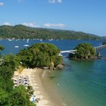 La vue de notre hôtel, Playa Cayacoa