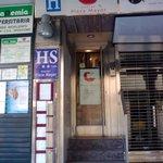 Entrance to Hostal Plaza Mayor