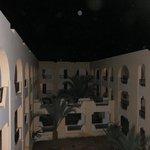 Vue des couloirs des chambres
