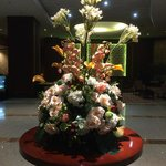 Centrepiece at the lobby