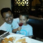 FARUK with my son