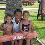 friendliest lifeguard HURR art DHOW pool