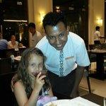 friendly FARUK in MAARID restaurant