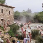 The wonderful thermal waters of Saturnia