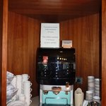 Coffe machine is avaliable for guest 24/7