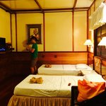 SMART land resort room left (pardon my husband in the pic)