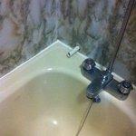 pipe into the bath
