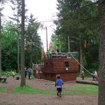 outdoor pirate ship