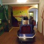 more exploration inside visitor center