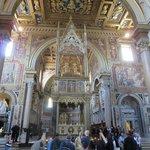 Vista interior de la Basílica