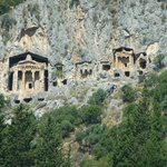 Rock tombs above Dalyan