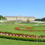 Schonbrunn Palace from near Gloriette