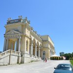 Gloriette in Schonbrunn Palace grounds