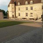 Cour intérieure du chateau, entrée réception
