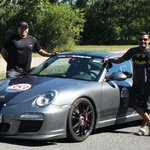 Ash & Ams with our Porsche GT3