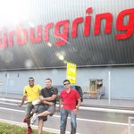 The Boys at the main Nurburgring Centre