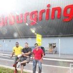 The Boys at the main Nurburgring Centre