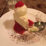 AMAZING tequila lime cheesecake