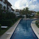 secondary swimming pool