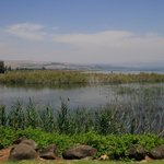 Sea of Galilee from Ancient Boat Museum