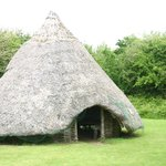 The Crannóg (Iron Age style roundhouse)