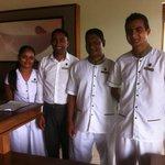 Friendly staff - winning hearts and minds