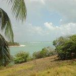 vista da lagoa de Guarairas