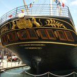 The decorated stern