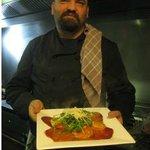 Massimiliano, a great chef.