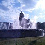 fontana di Piazza di Spagna angolo Paaseig de Gracia