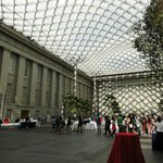 Courtyard with Norman Foster's canopy