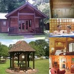 Cobbett luxury lodge with king size four poster and outdoor hot tub