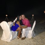 Evening Dinner on the Beach!