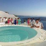 A magic day - Wedding in Santorini