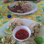 Carne Asada and Fish Tacos