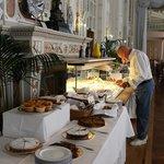 The breakfast buffet part1